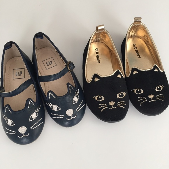 GAP Shoes | Toddler Girl Cat Shoes Size